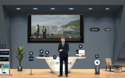 OptoScale vinner årets digitale stand på Aqua Nor